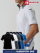 BURTLE(バートル) マイクロ鹿の子 ドライメッシュ 吸汗速乾 ストレッチ 半袖ハーフジップシャツ 【415】<レディス対応>