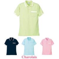 児島 シャロレー サーモクール 半袖ポロシャツ【6930】