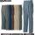 GRANCISCO(グランシスコ)ピーチチノ 綿100% ヴィンテージ加工 ツータックパンツ